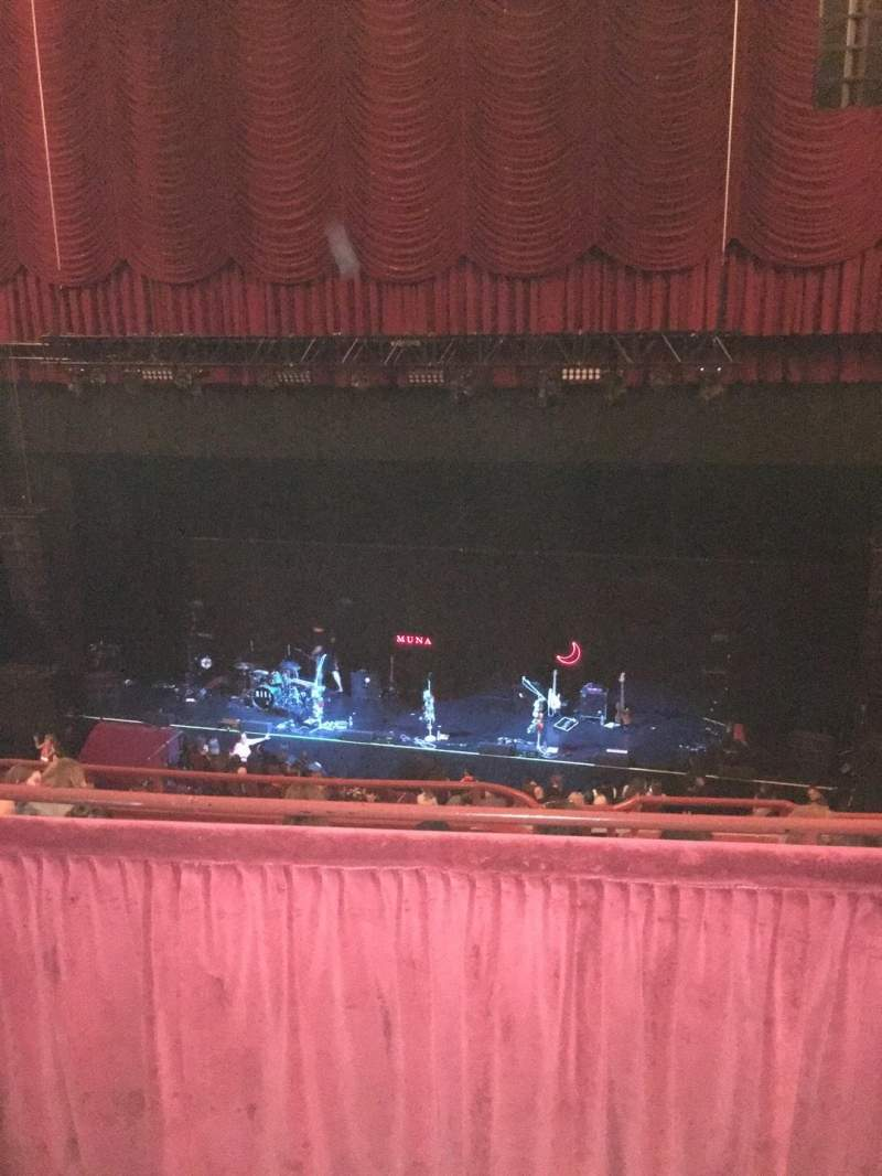 Seating view for Chicago Theatre Section BALCONY3R Row B Seat 310