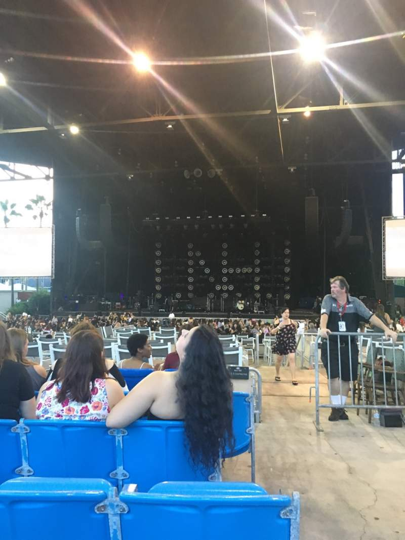 Seating view for Coral Sky Amphitheatre Section 6 Row N Seat 1