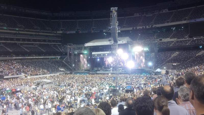 Seating view for MetLife Stadium Section 118 Row 30 Seat 26
