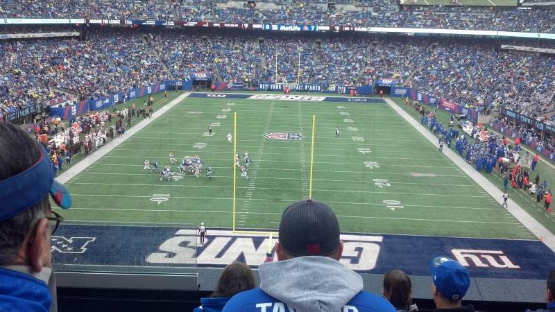 Seating view for MetLife Stadium Section 225A Row 5 Seat 21
