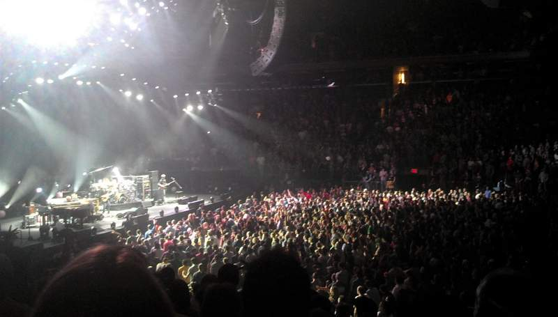 Madison Square Garden, section: 225, row: 3, seat: 10