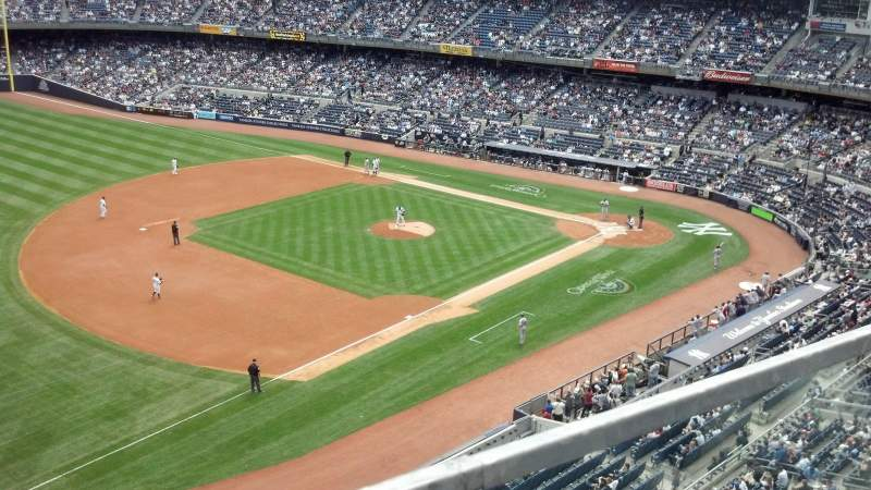 Seating view for Yankee Stadium Section 328 Row 1 Seat 24
