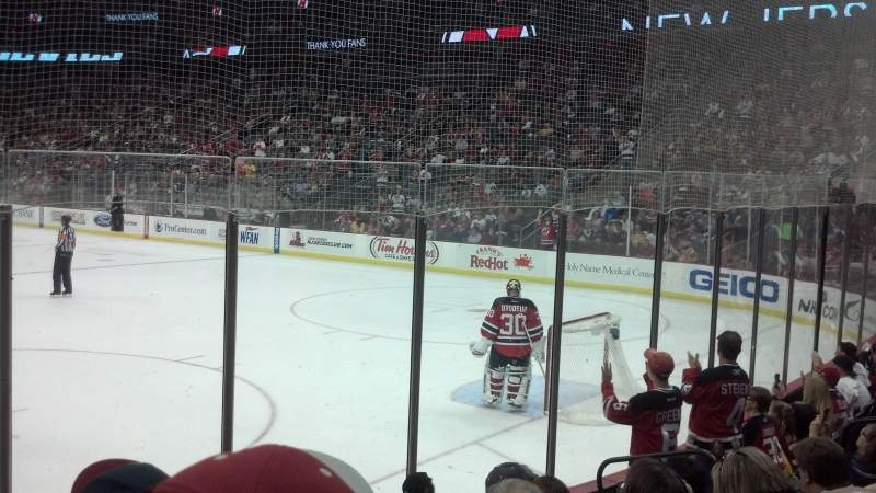 Seating view for Prudential Center Section 12 Row 7 Seat 9