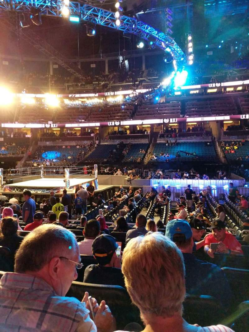 Seating view for Amway Center Section 105 Row 9 Seat 9