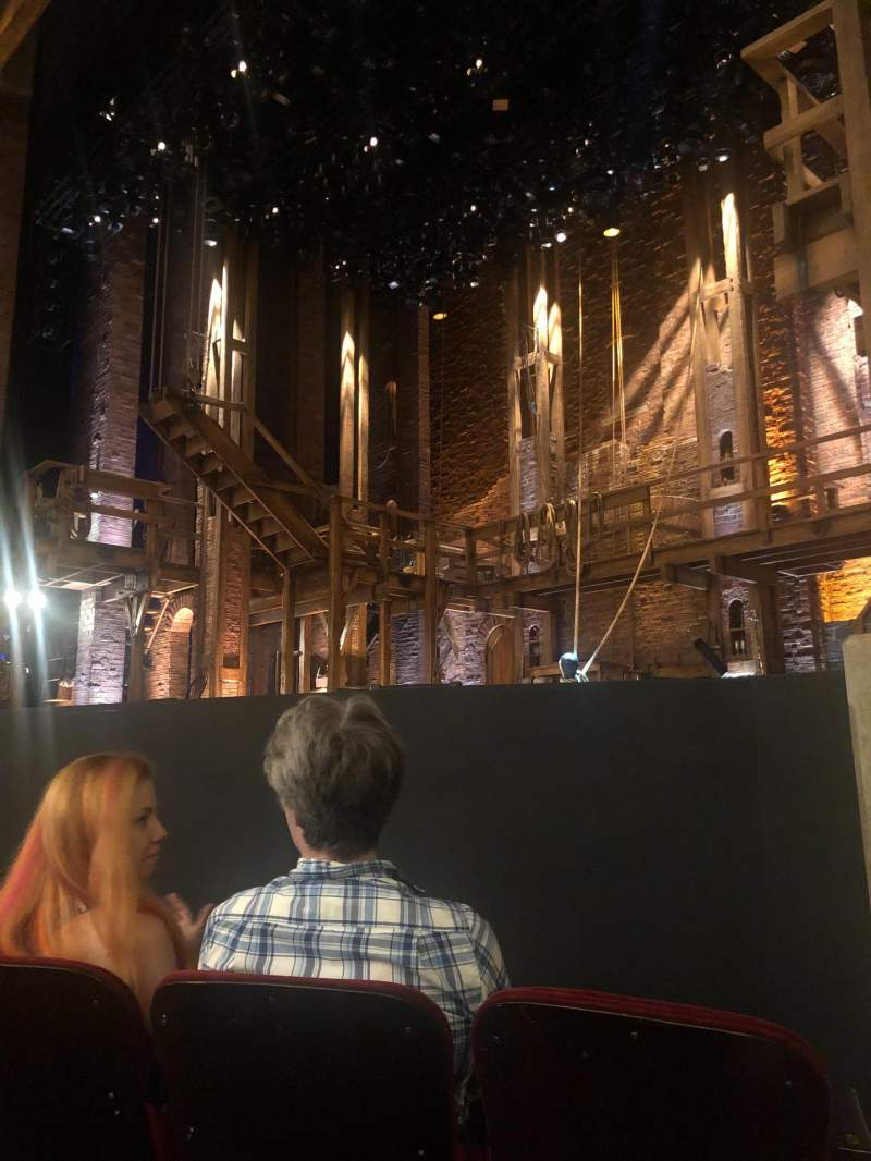 Seating view for CIBC Theatre Section Orchestra R Row D Seat 12