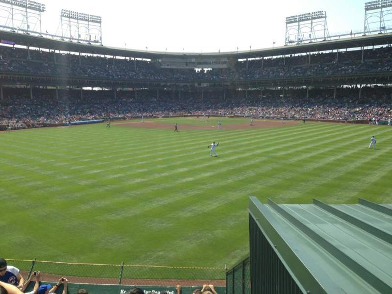 Seating view for Wrigley Field Section Bleachers