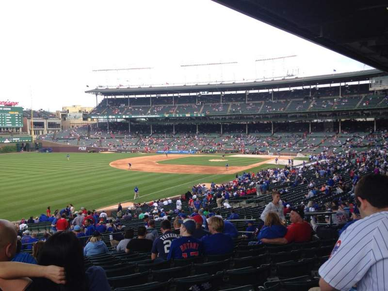 Seating view for Wrigley Field Section 204 Row 15 Seat 107