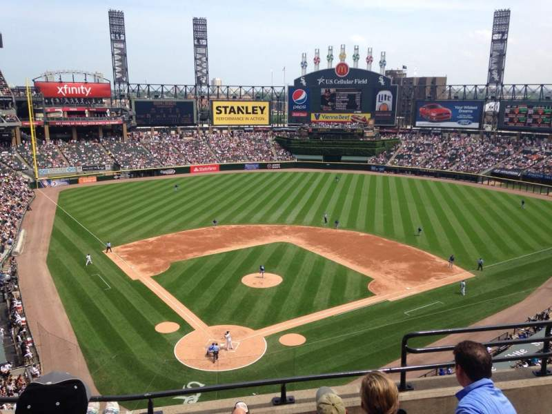 Seating view for U.S. Cellular Field Section 530 Row 5 Seat 4