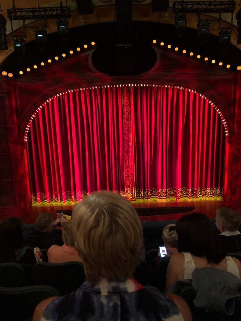 Shubert Theatre, section: Mezz, row: E, seat: 108
