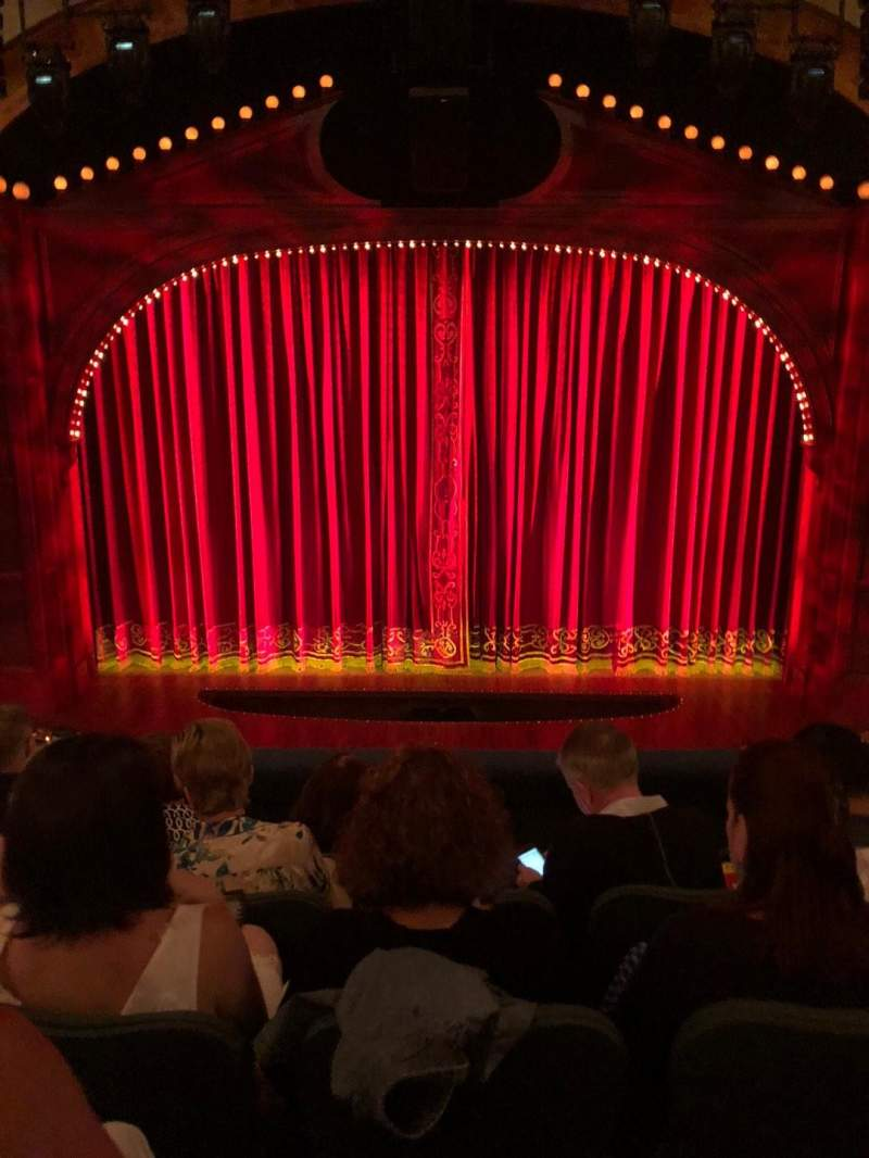 Seating view for Shubert Theatre Section Mezzanine C Row E Seat 107