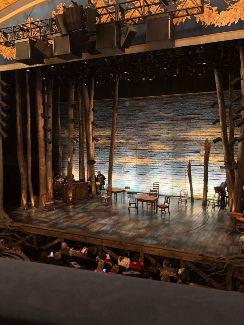 Seating view for Gerald Schoenfeld Theatre Section Mezzanine R Row A Seat 2
