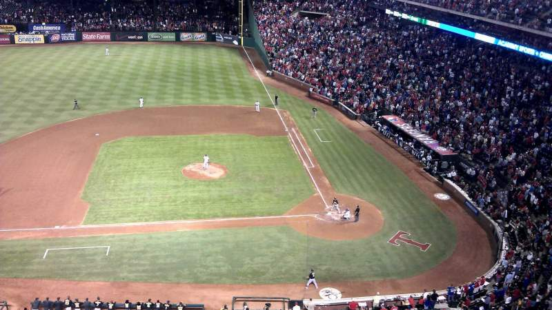 Seating view for Globe Life Park in Arlington Section 320 Row 2 Seat 14