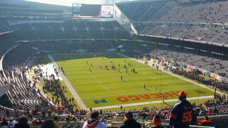 Seating view for Soldier Field Section 355 Row 24 Seat 17