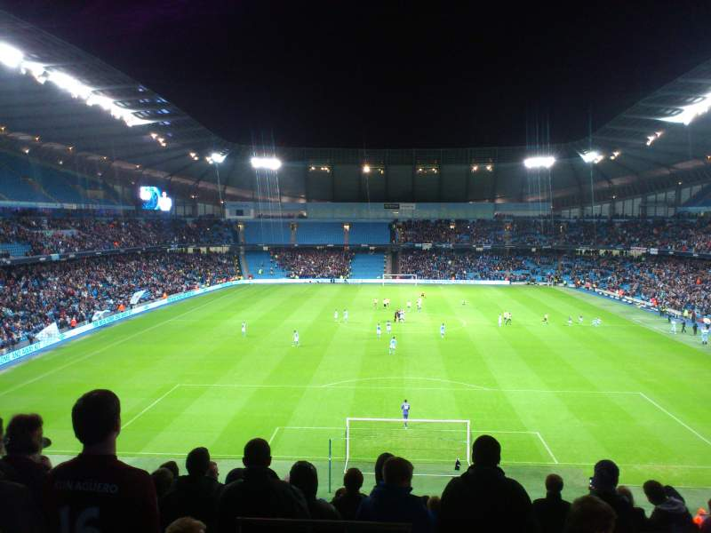 Seating view for Etihad Stadium (Manchester) Section 237 Row R Seat 1025