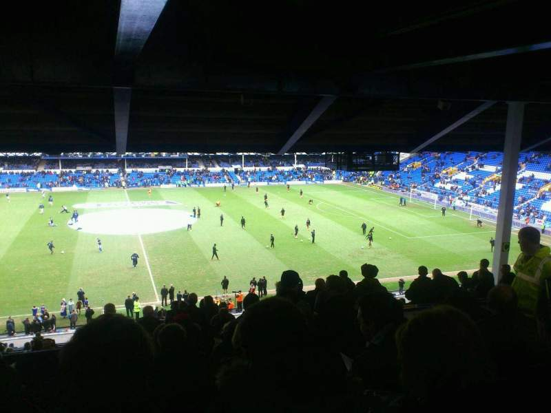 Seating view for Goodison Park Section MS2 Row LL Seat 92