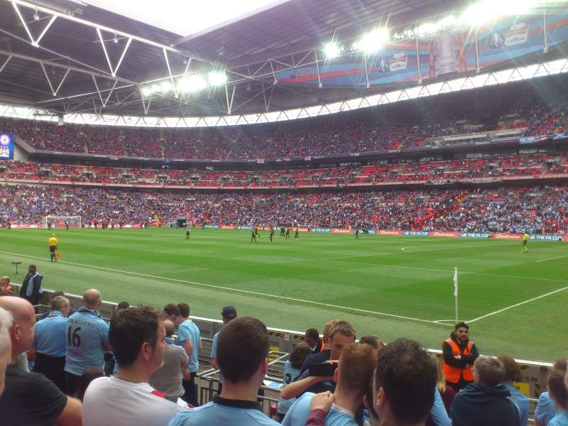 Seating view for Wembley Stadium Section 140 Row 8