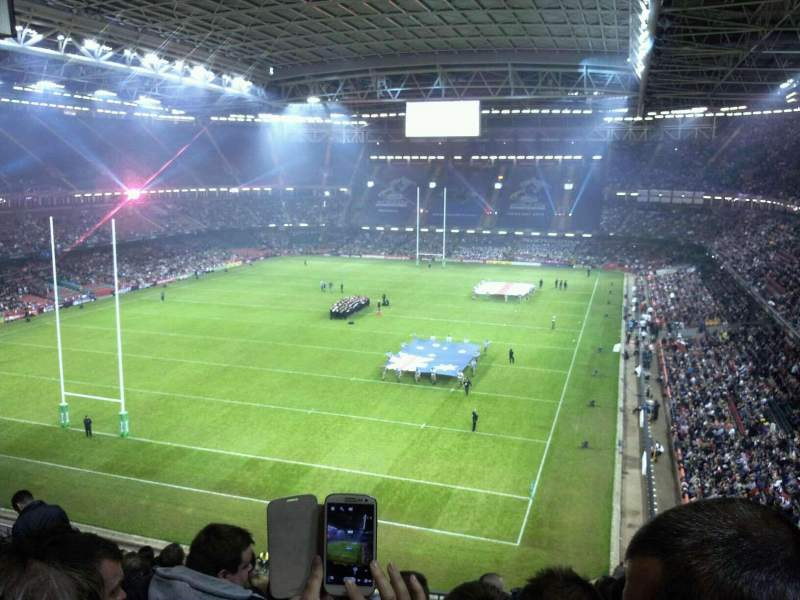 Seating view for Principality Stadium