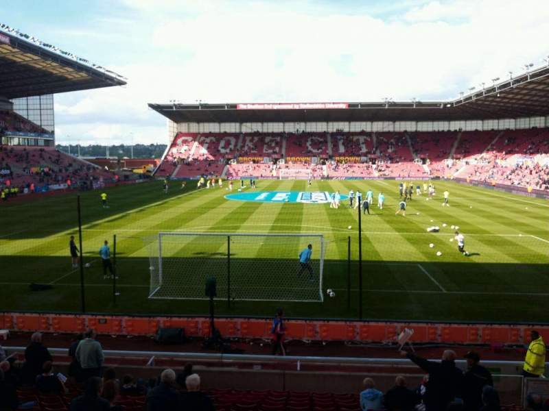 Seating view for bet365 Stadium