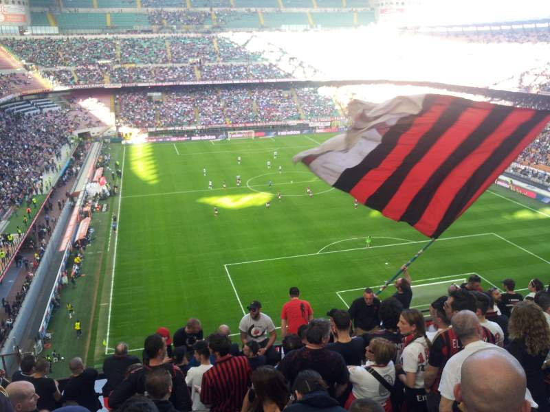 Seating view for Stadio Giuseppe Meazza Section Curva Sud