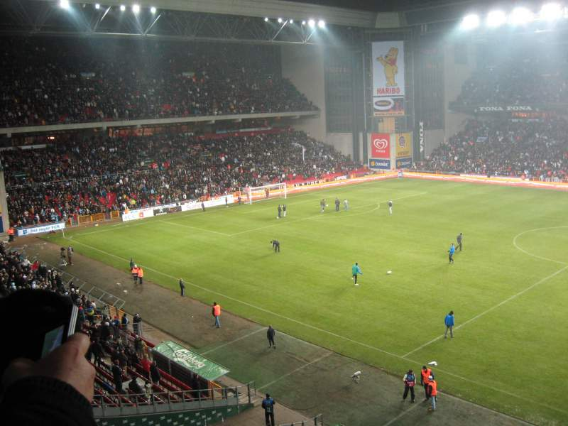 Seating view for Parken Stadium Section Away Section