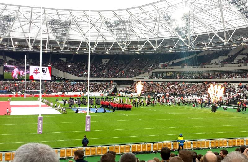 Seating view for London Stadium Section 148