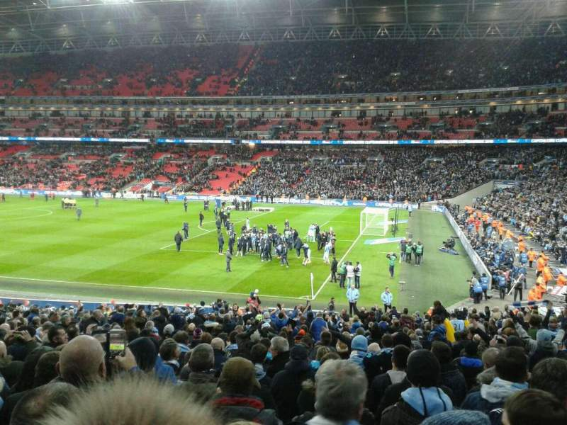 Seating view for Wembley Stadium Section 118 Row 30 Seat 230