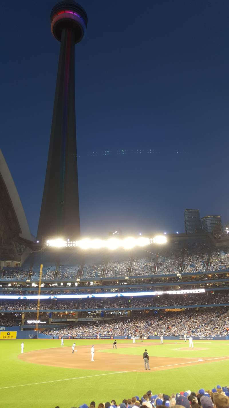 Seating view for Rogers Centre Section 130AR Row 17 Seat 1