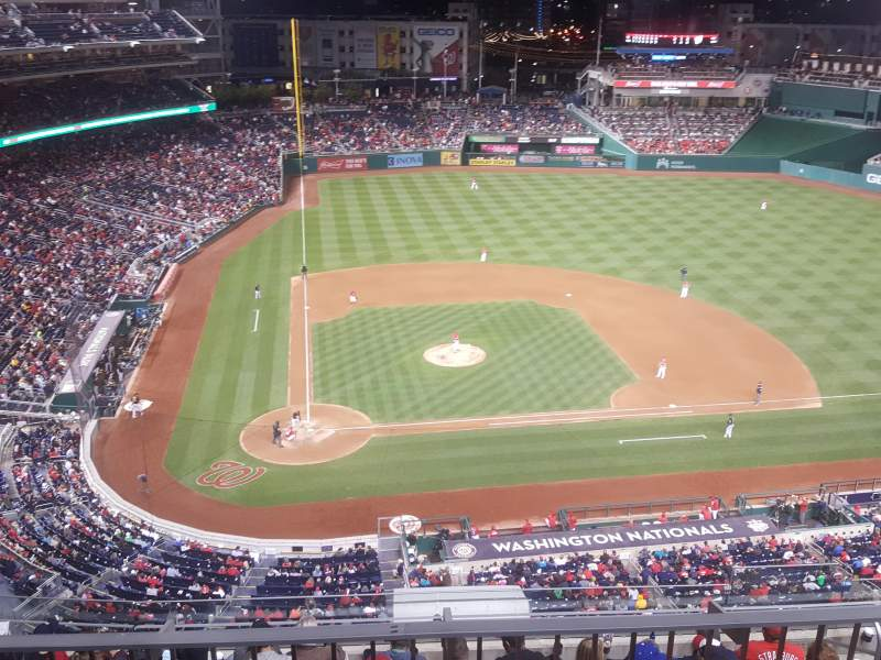 Seating view for Nationals Park Section 317 Row L
