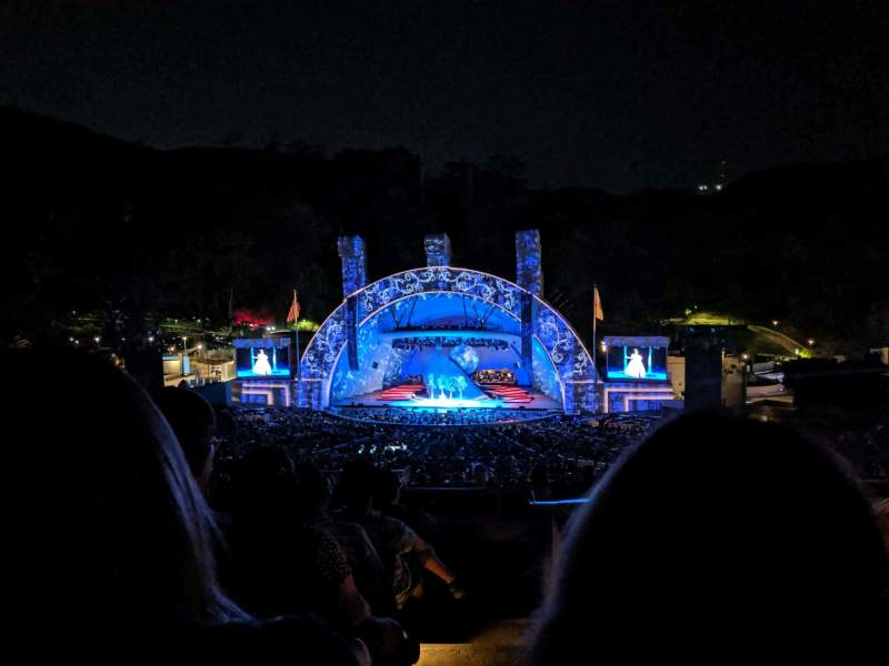 Seating view for Hollywood Bowl Section M2 Row 7 Seat 101