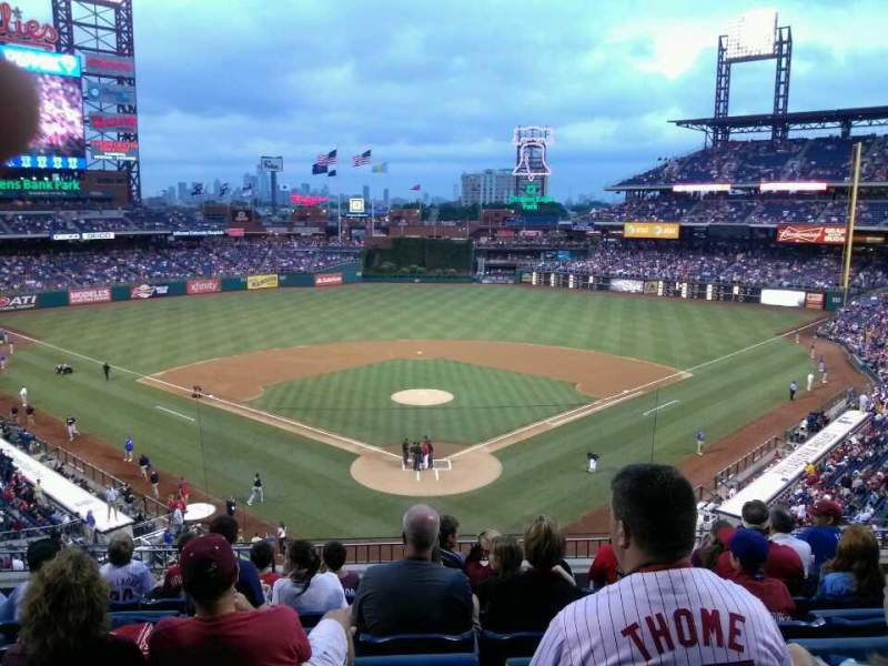 Seating view for Citizens Bank Park Section 222 Row 7 Seat 10
