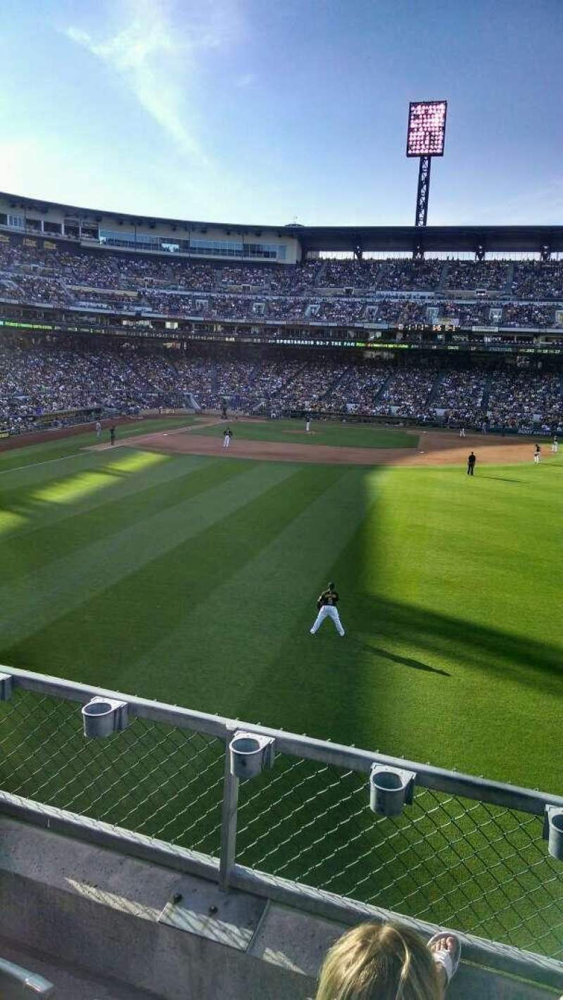 Seating view for PNC Park Section 143 Row C Seat 3