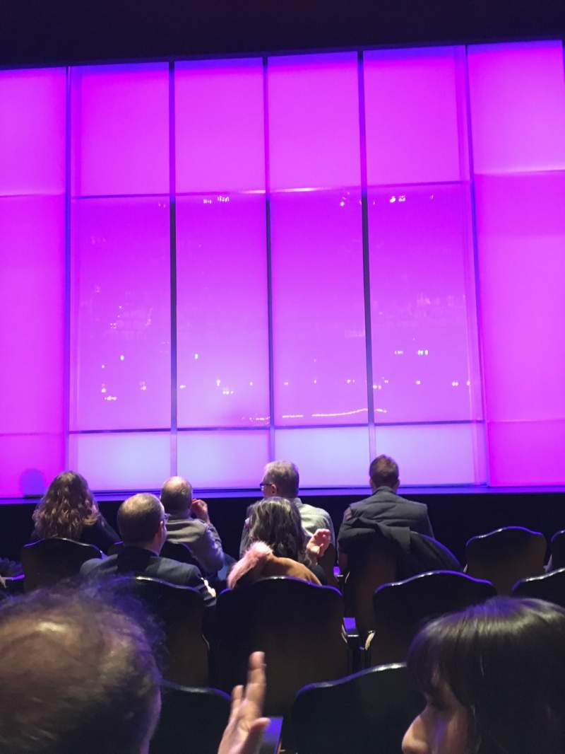 Seating view for Studio 54 Section Orchestra C Row D Seat 109
