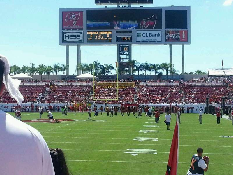 Seating view for Raymond James Stadium Section 149 Row e Seat 14