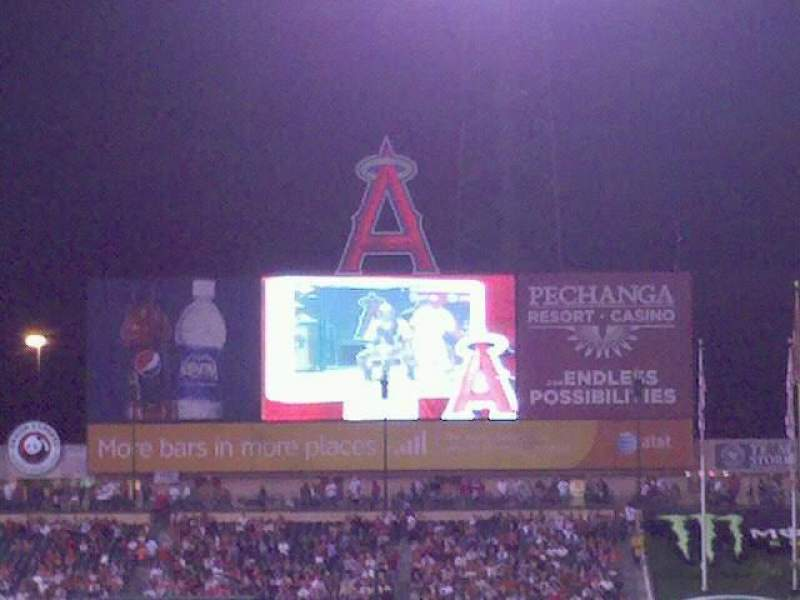 Seating view for Angel Stadium Section 345