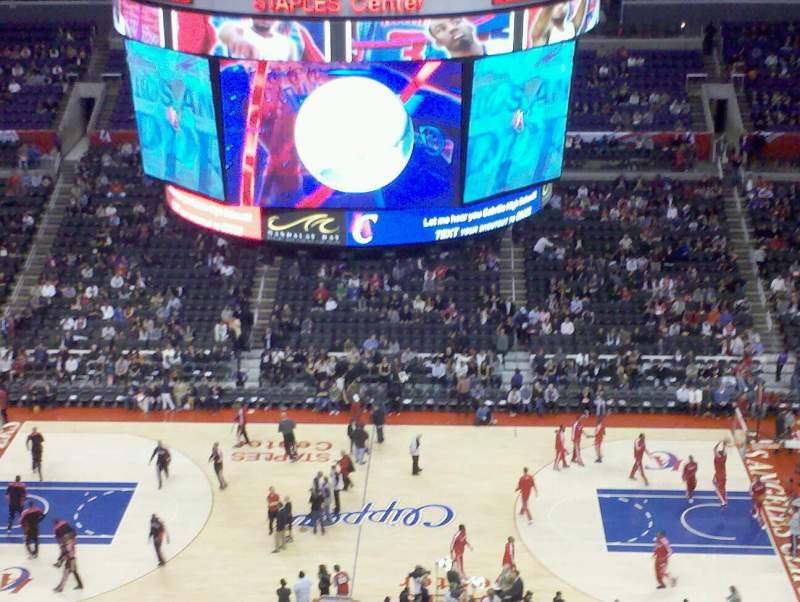 Seating view for Staples Center Section 301