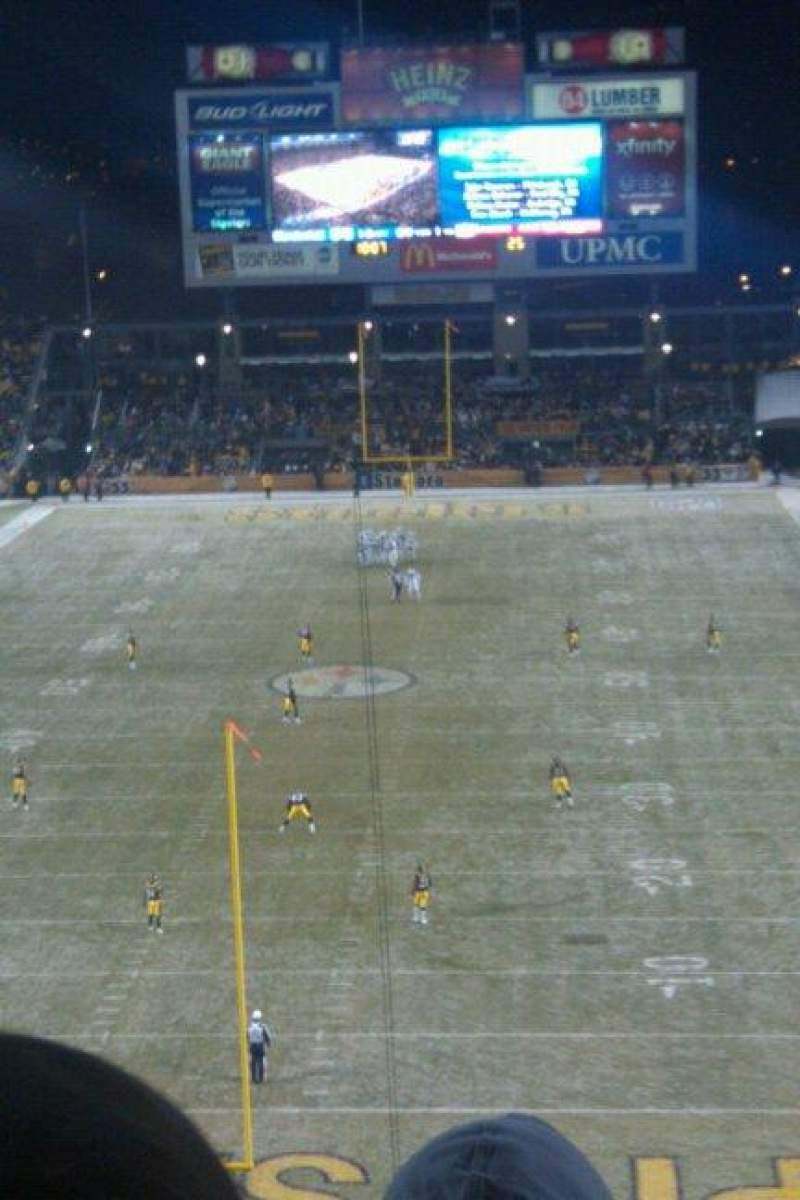 Seating view for Heinz Field Section NC-009