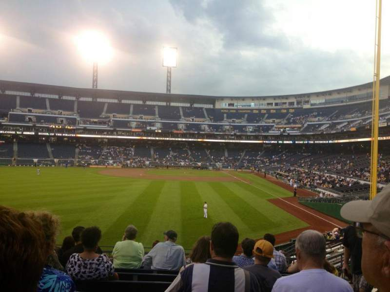 Seating view for PNC Park Section Bleachers GA Row 10