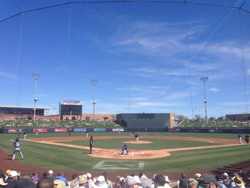 Seating view for Salt River Fields Section 112 Row 12 Seat 4