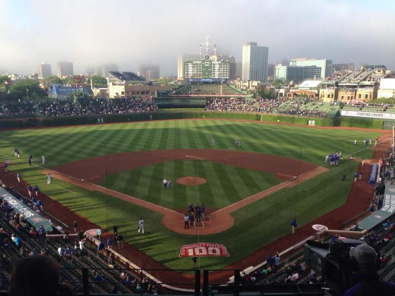 Seating view for Wrigley Field Section 317R Row 5 Seat 9