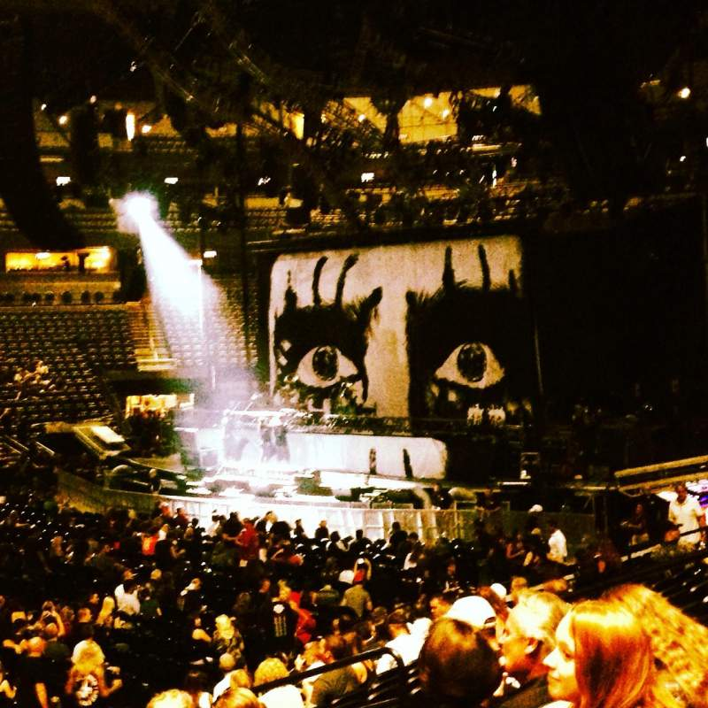 Pepsi Center, section: 102, row: 15, seat: 11