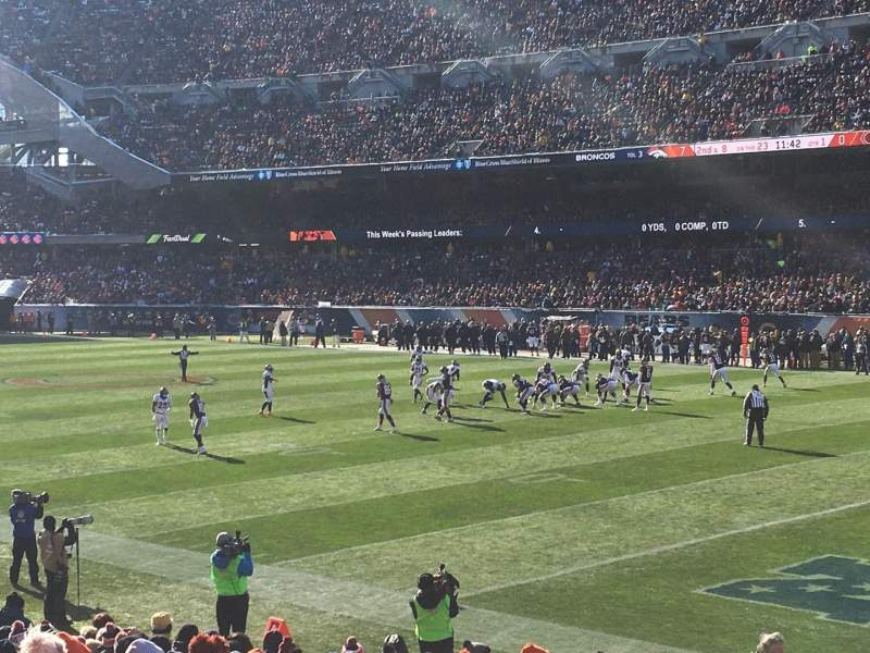 Seating view for Soldier Field Section 101 Row 16 Seat 4