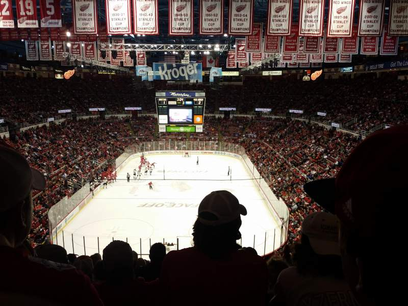 Seating view for Joe Louis Arena Section 214 Row 18 Seat 11