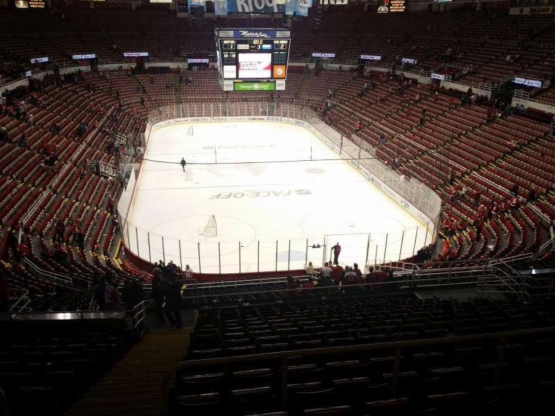 Seating view for Joe Louis Arena Section 215 Row 17 Seat 15