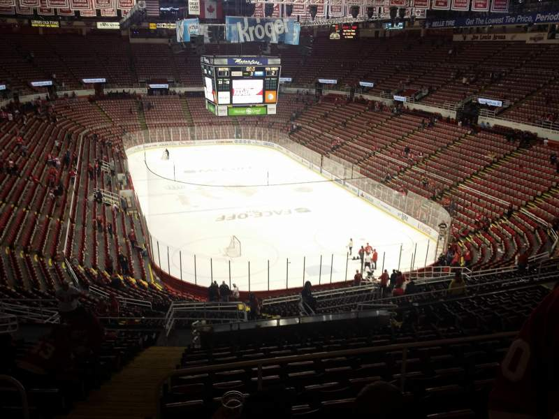 Seating view for Joe Louis Arena Section 216a Row 18 Seat 15