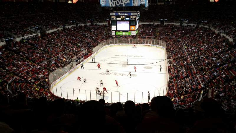 Seating view for Joe Louis Arena Section 213b Row 23 Seat 27