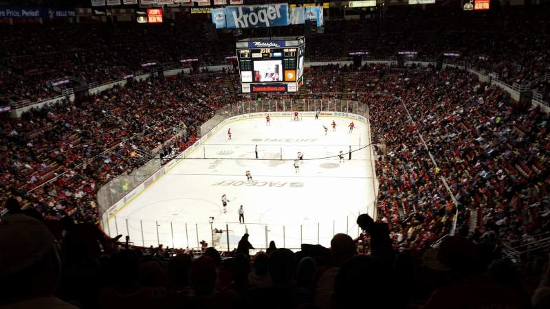 Seating view for Joe Louis Arena Section 213b Row 23 Seat 24