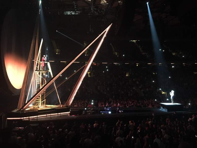 Madison Square Garden, section: 115, row: 9, seat: 12