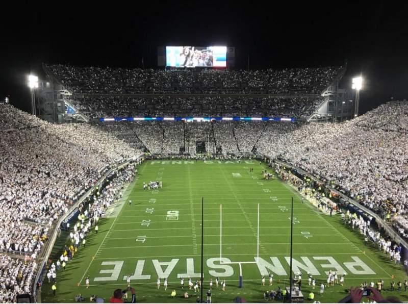 Beaver Stadium, section: NGU