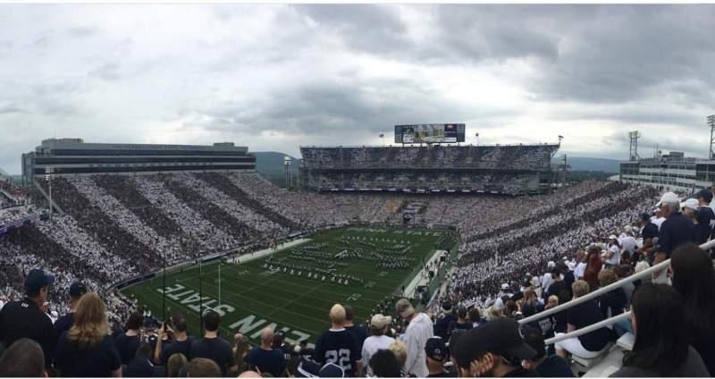 Beaver Stadium, section: NBU