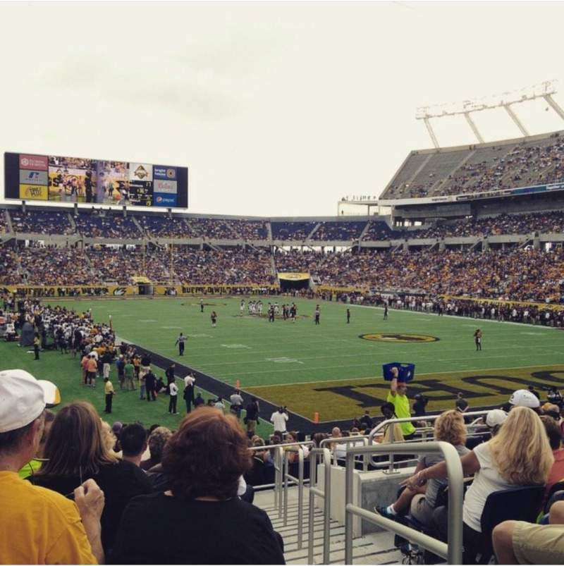 Seating view for Camping World Stadium Section 149 Row 11 Seat 1